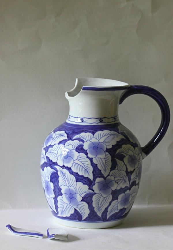 Weekly Photo Challenge: BROKEN -  Vase