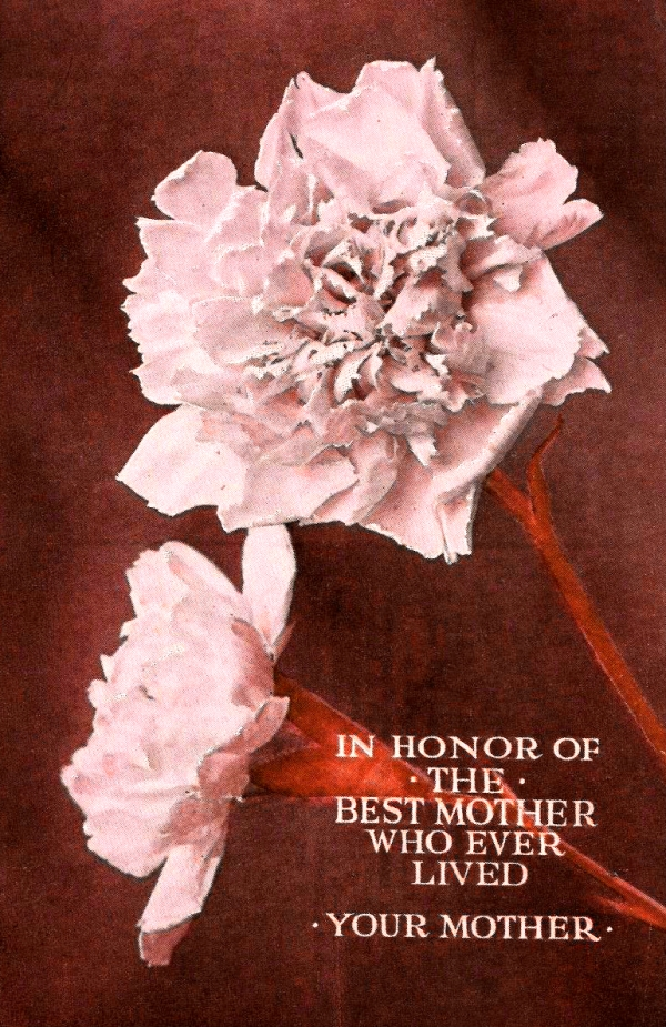 Happy Mother's Day Flower and message