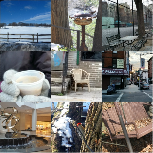 Weekly Photo Challenge: OFF-SEASON -  Sleepy town and wintry moments