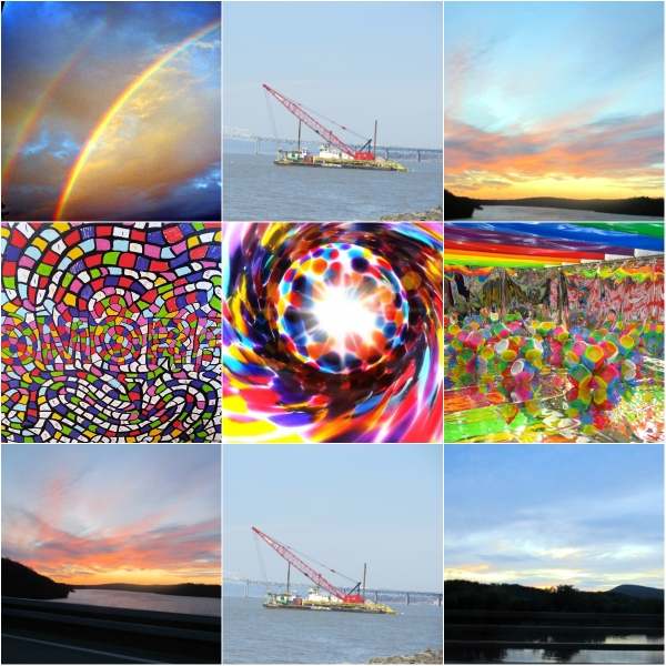 Weekly Photo Challenge: Rainbow Colors – A range of items in ROYVBIV