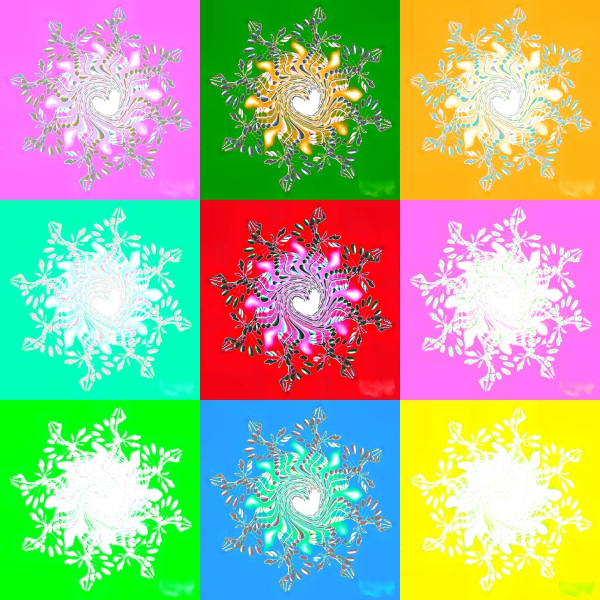 Weekly Photo Challenge: VIVID! Mandala vivid art