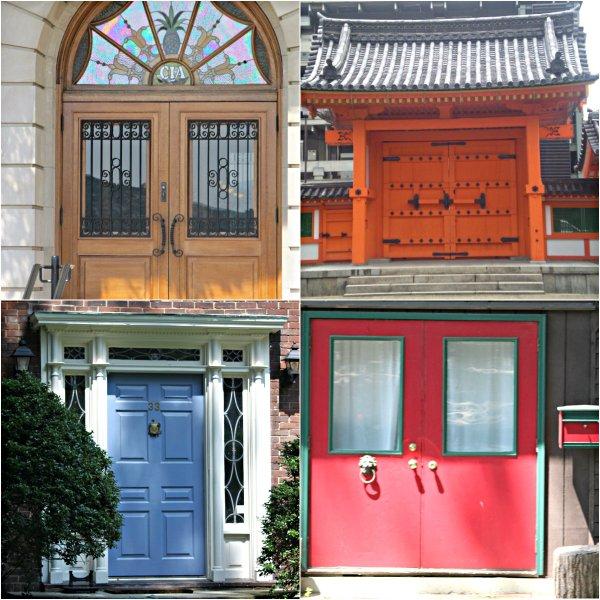 Weekly Photo Challenge: DOORS - Some of my favorites