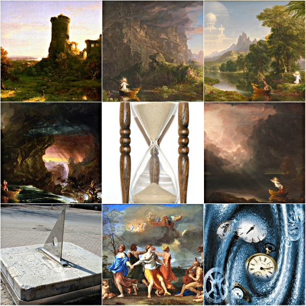 Motivation Mondays: TIME - Collage