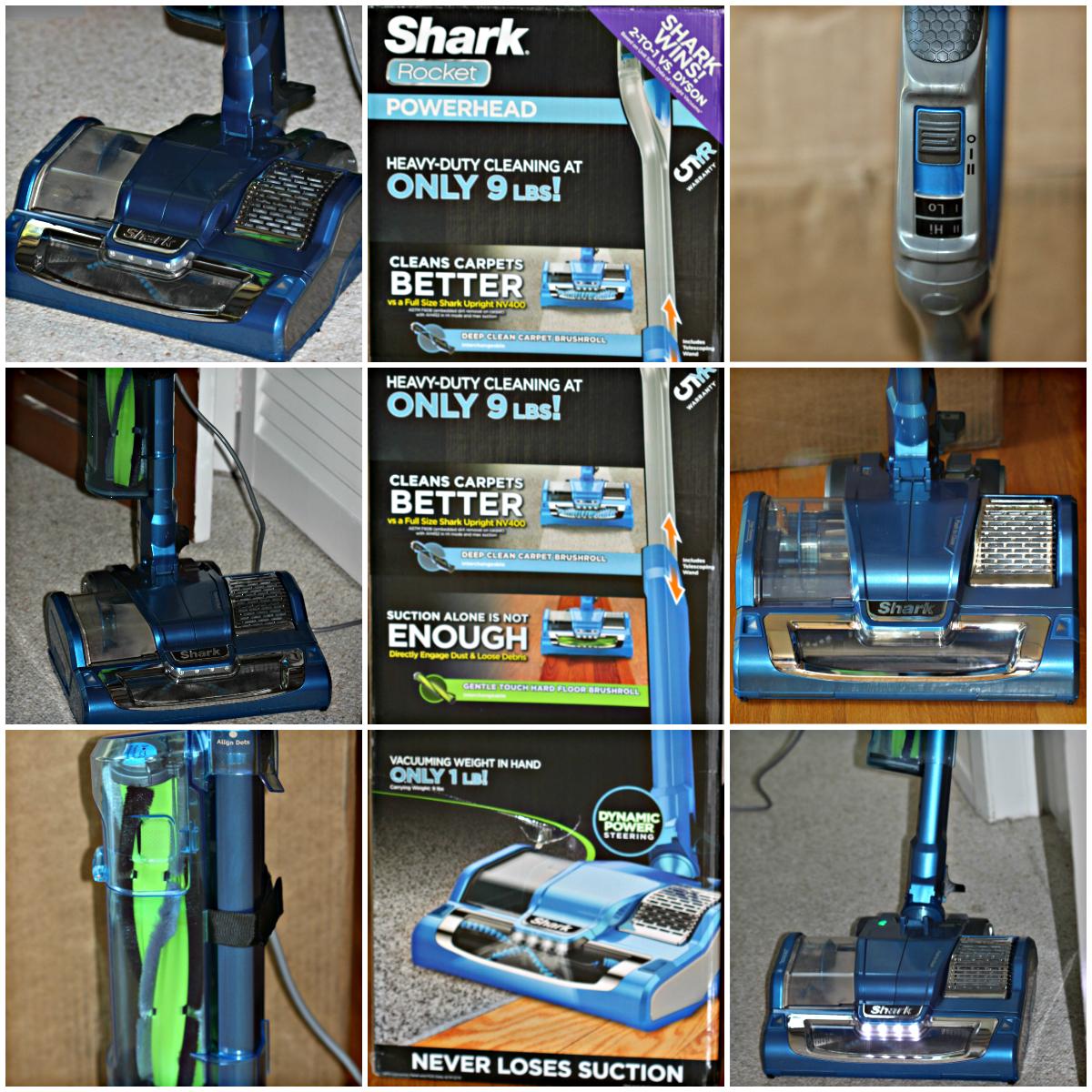shark rocket powerhead a review