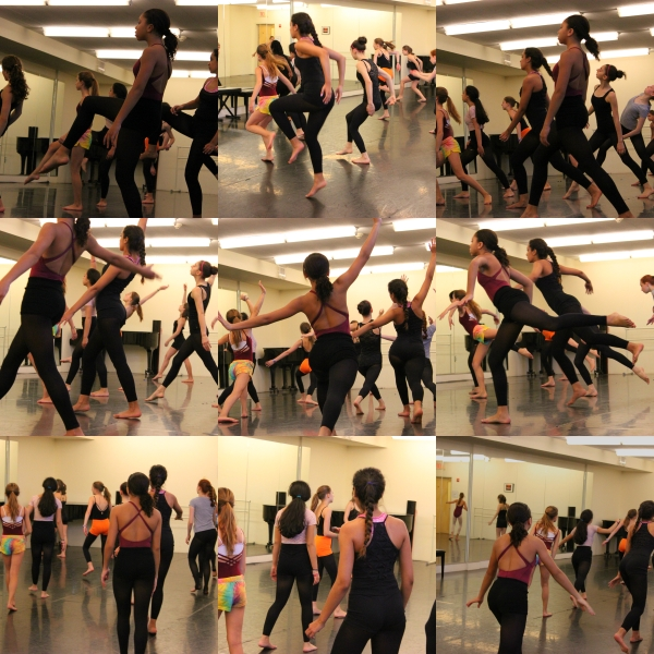 Weekly Photo Challenge: GATHERING - All sorts of Gatherings; dancers at practice
