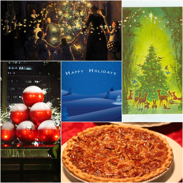 Weekly Photo Challenge: Now - Merry Christmas! Pecan Pie & Good Cheer!