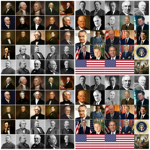 Motivation Mondays: Presidents' Day - 44 Presidents of the USA, Presidential Seal and Flag