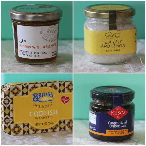 Try The World: A Taste Of Portugal - 4 of the 8 carefully curated specialties