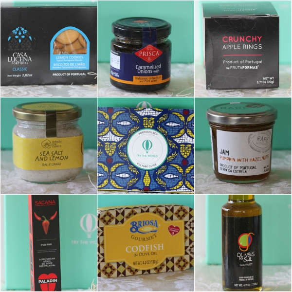 Try The World: A Taste Of Portugal - 8 carefully curated specialties