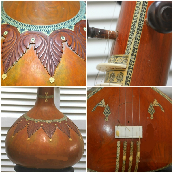 Weekly Photo Challenge: ADMIRATION - Tamboura musical instrument