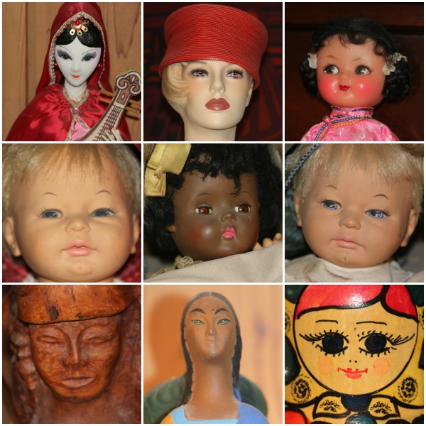 Weekly Photo Challenge: FACE - All Sorts of Faces