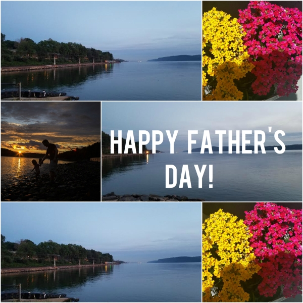 Happy Father's Day: Love to all on #DadsDay !