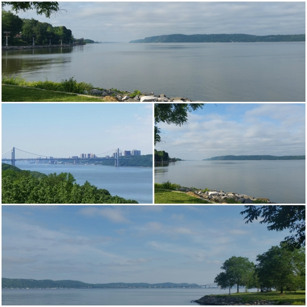 Weekly Photo Challenge: PURE - Early morning views of the Hudson River North and South