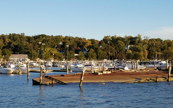 Weekly Photo Challenge: LOCAL - Hudson River and docked boats