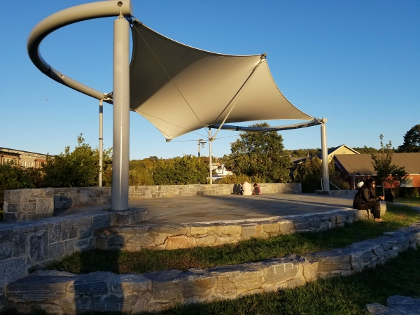 Weekly Photo Challenge: LOCAL - Beautiful Outdoor stage by the river...