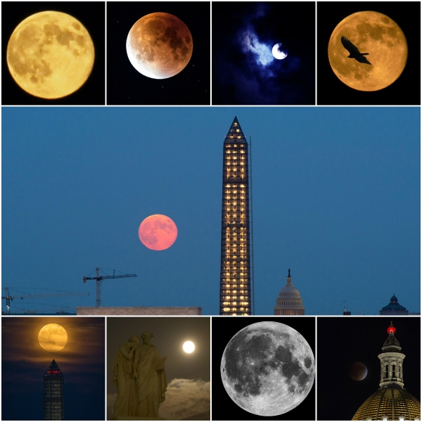 Motivation Mondays: SUPERMOON - A range of moons tapping into our super powers
