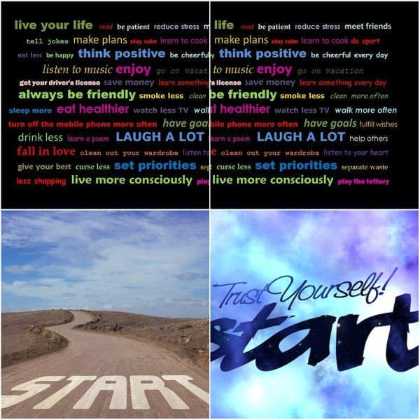 Motivation Mondays: A NEW START #2017SurvivalTips - Enjoy your life