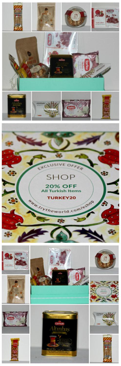 Try The World: A Taste of TURKEY