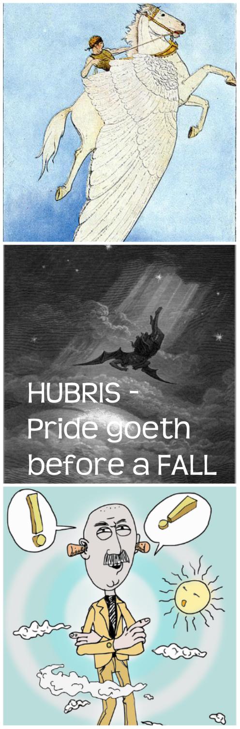 Motivation Monday: HUBRIS